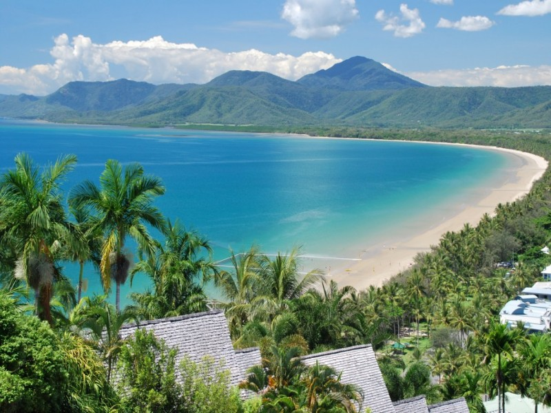 Four Mile Beach in Port Douglas, Tropical North Queensland