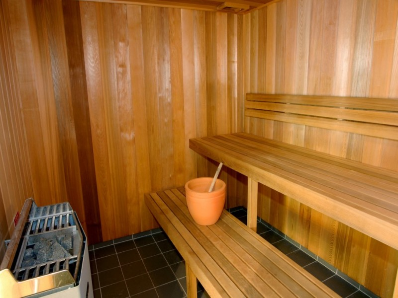 Artique Resort Sauna Room.