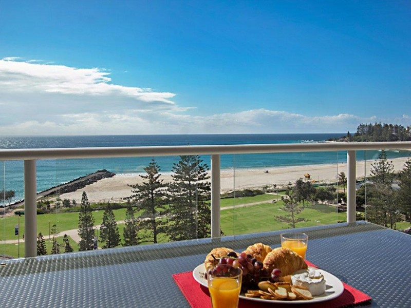 The Sebel Coolangatta Balcony View - Hightide Holidays