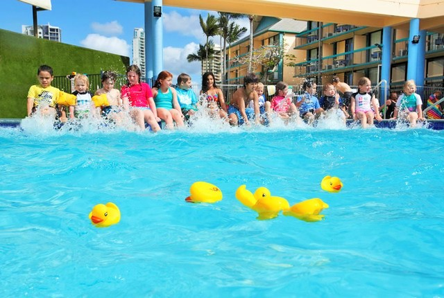 Duck Races at Paradise Resort Surfers Paradise - Hightide Holidays
