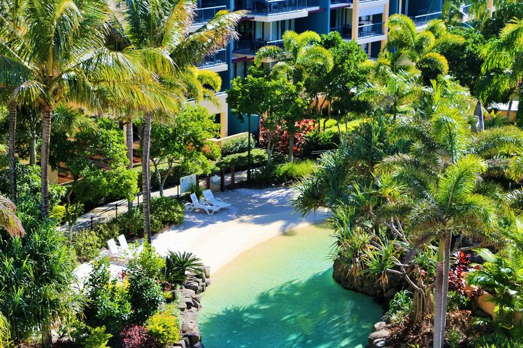 Oaks Seaforth, Alexandra Headlands Resort Lagoon Area | Discover Queensland