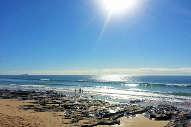 Alexandra Headland Beach covered in Sunshine | Discover Queensland