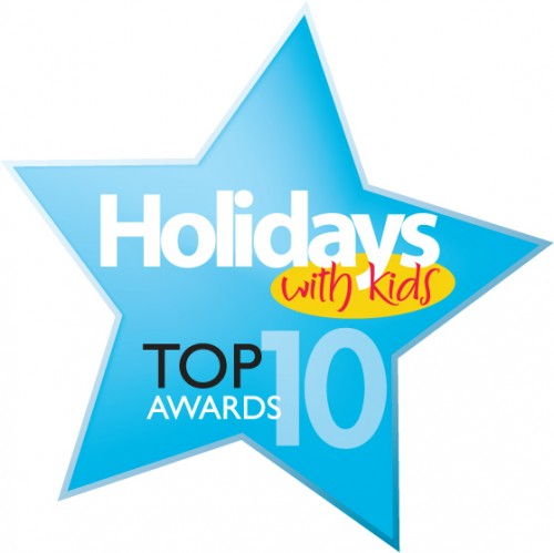 Holidays with Kids Top Ten Award to Marriott Surfers Paradise - Hightide Holidays