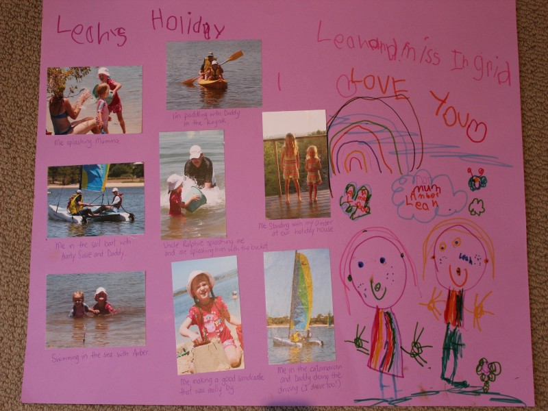Taking the Kids out of School for Holidays - Holidays Homework - Holiday Collage - Holiday project - Discover Queensland