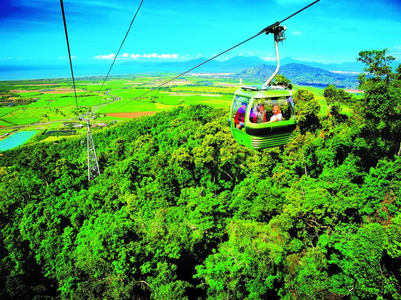 Skyrail Rainforest Cableway - Hightide Holidays