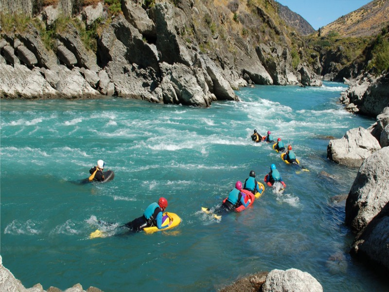 Serious Fun River Surfing - Queenstown Holidays