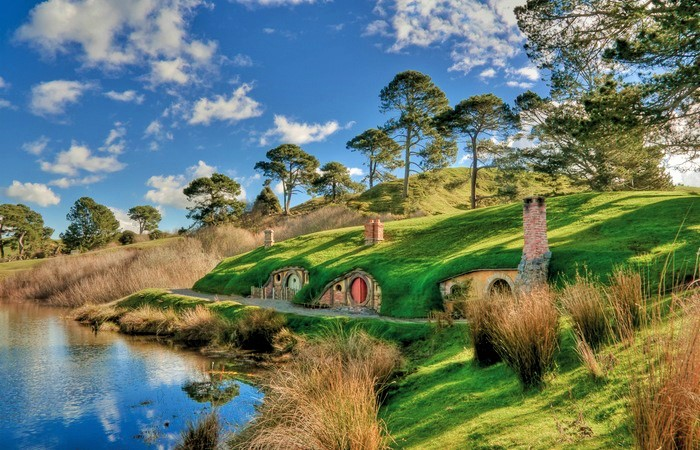 Lord of the Rings Tour - Hobbit Houses - Queenstown Holidays