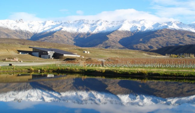 The Stunning Amisfield Winery Bistro overlooking Lake Hayes -Queenstown Holidays