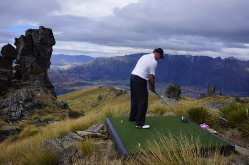 Over the Top Golf - Queenstown Holidays