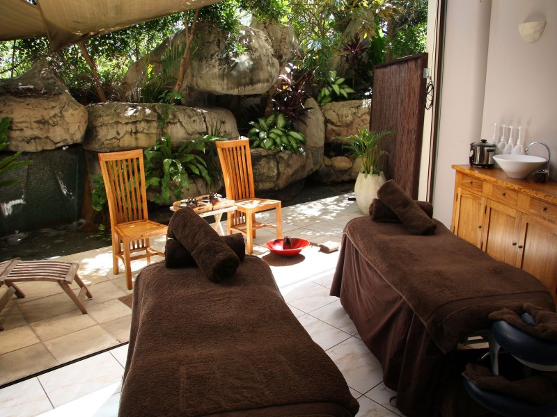 Waterfall Day Spa in Landmark Resort - Discover Queensland
