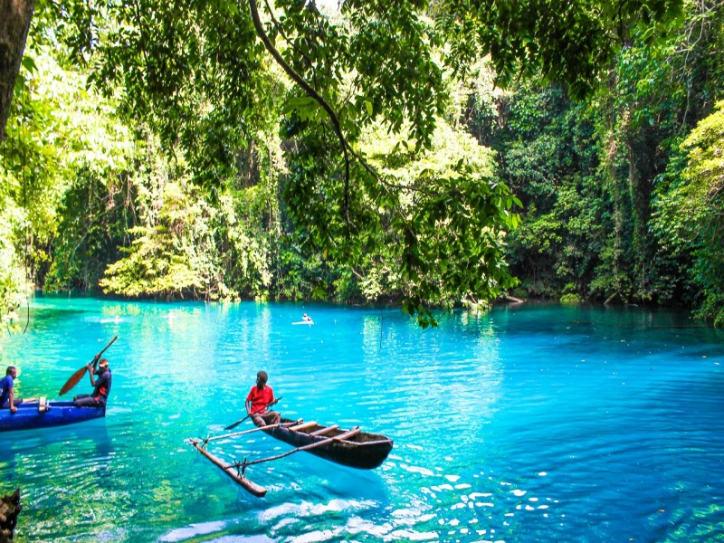 Kayaking in Vanuatu - Hightide Holidays