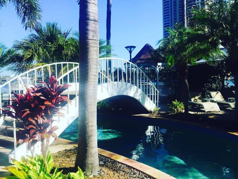 Just over the bridge at the Marriott Vacation Club at Surfers Paradise you can hire boats to go fishing | Discover Queensland