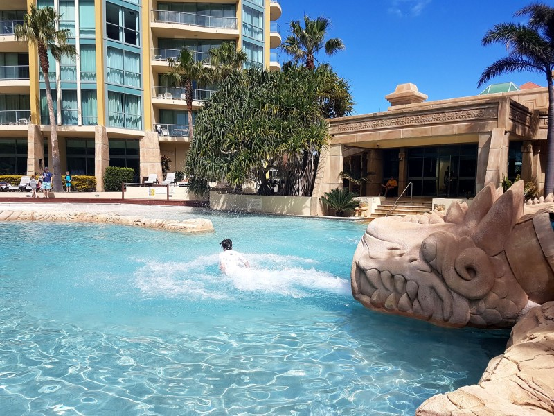 The Water Slide at Mantra Sun City - Discover Queensland