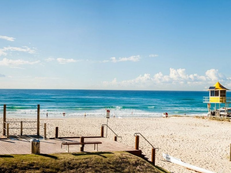 View from Kurrawa Surf Club Broadbeach - Discover Queensland