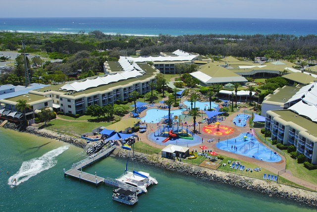 Sea World Resort from an Aerial Perspective - Discover Queensland