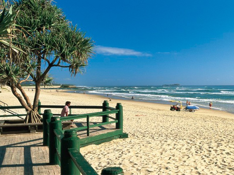 Maroochydore Beach Across the Road From The Sebel Maroochydore   Discover Queensland