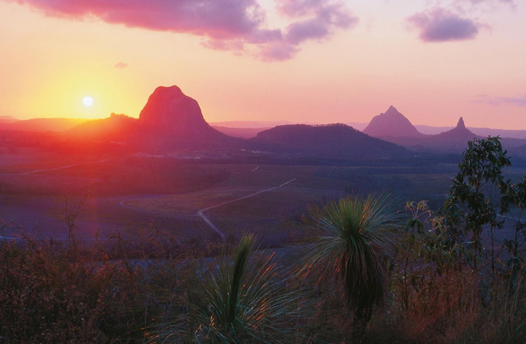 Glass House Mountains   Your Guide to the Sunshine Coast   Discover Queensland