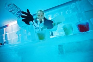 Choose from a range of drinks, served in style at Below Zero Ice Bar - Queenstown Holidays