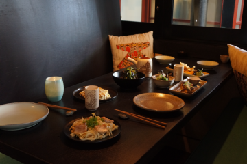 Relaxed, private dining at Tanoshi Teppan and Sake Bar - Queenstown Holidays