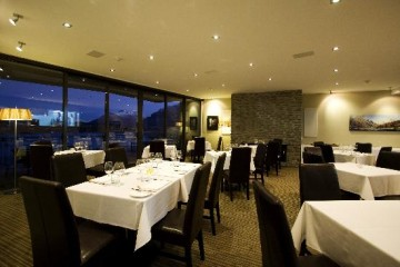 Stunning alpine views at True South Dining Room - Queenstown Holidays