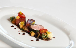 Simple and elegant dishes at True South Dining Room - Queenstown Holidays