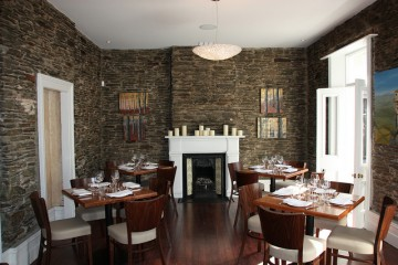 Sasso Italian Dining interior - Queenstown Holidays