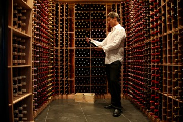 Large selection of exquisite wines at the Bordeau Wine Lounge - Queenstown Holidays