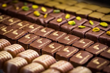 Large selection of quality pralines and desserts at Koko Black Chocolate - Queenstown Holidays