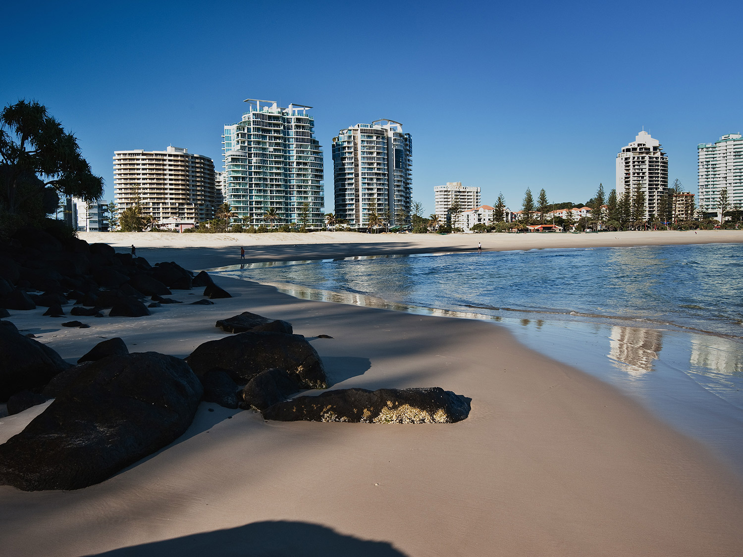 Reflections Coolangatta Beach
