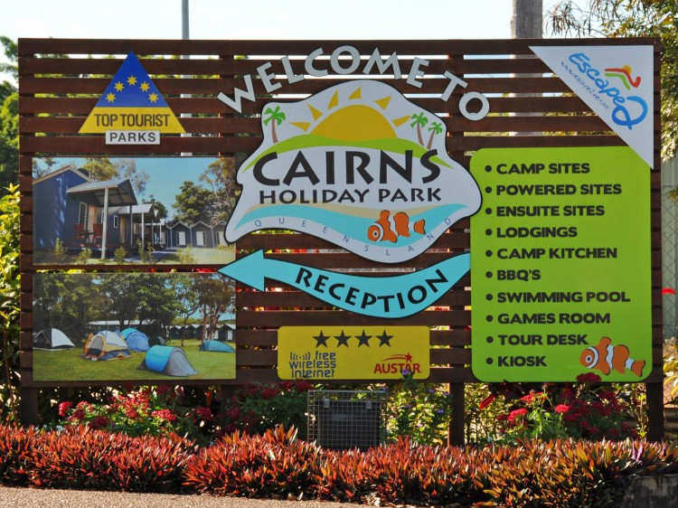 Cairns Holiday Park Family