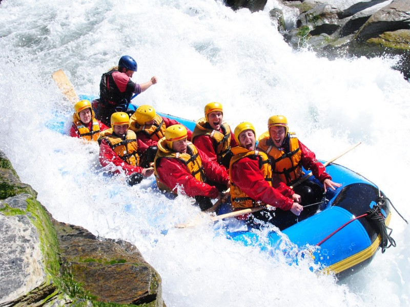 Challenge Rafting Queenstown