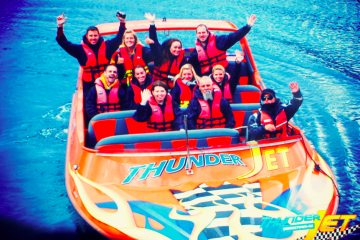 Thunder Jet Boat on the River - Queenstown Holidays