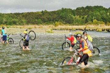 Outside Sport Bike Hire - Cycling through Fiordland - Queenstown Holidays