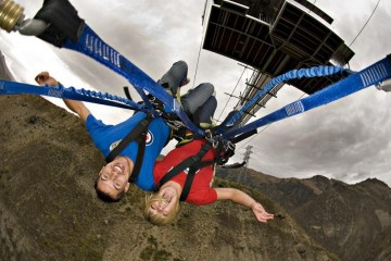 The World's Largest Swing - the Nevis Swing - Queenstown Holidays
