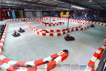 Go Karting Track at Game Over QT - Queenstown Holidays