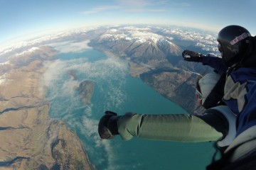 Skydive Paradise Queenstown Views - Queenstown Holidays