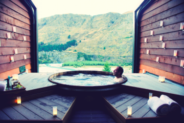 Onsen Hot Pools Relaxation - Queenstown Holidays