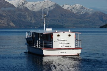 Million Dollar Cruise Boat - Queenstown Holidays