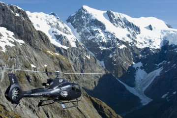 Over The Top - The Helicopter Company- Queenstown Holidays