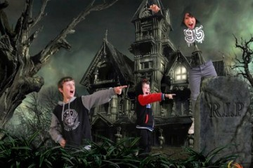 Vortex 12D Motion Theatre Kids in a Graveyard - Queenstown Holidays
