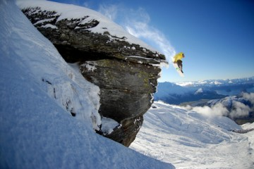 Treble Cone Action Shot - Queenstown Holidays