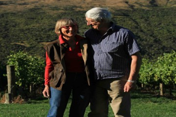 Denis and Ulrike, owners of Hawkshead Wines - Queenstown Holidays