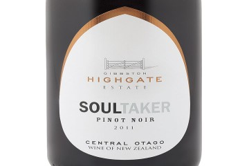 Gibbston Highgate Estate 'Soul Taker' Pinot Noir 2011 - Queenstown Holidays