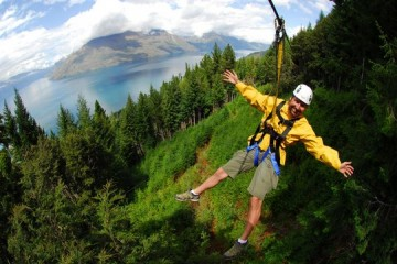 Ziptrek Ecotours - Showing off over the Queenstown Landscapes - Queenstown Holidays