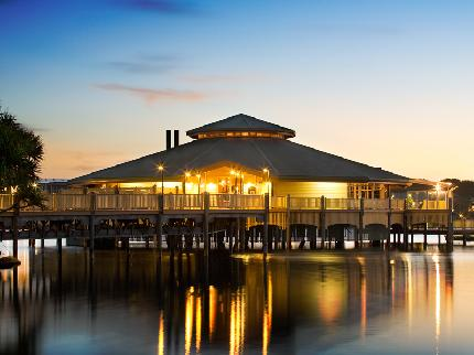 Twilight view of Novotel Twin Waters, Sunshine Coast Accommodation | Discover Queensland