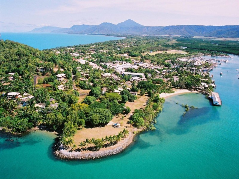 Birds Eye View of Port Douglas