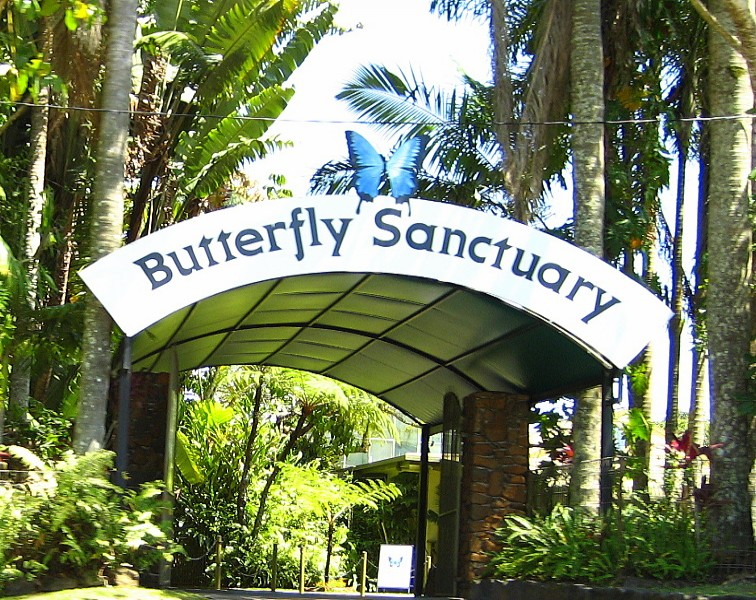 Australian Butterfly Sanctuary Front Gate | Discover Queensland