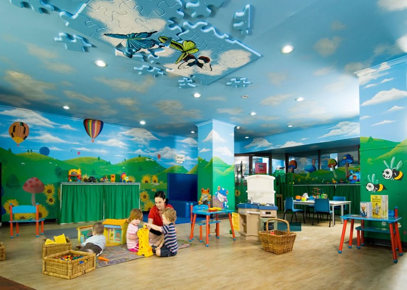 Kids club room at the Paradise Resort, Surfers Paradise, Gold Coast