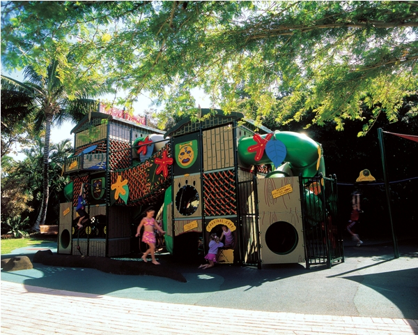 Kids Playground at the Daydream Island Resort