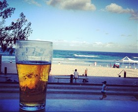 View from Kurrawa Surf Club in Broadbeach